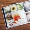 fotobok 270x270 svarta försättsblad
