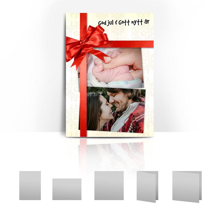 Julkort Rosett