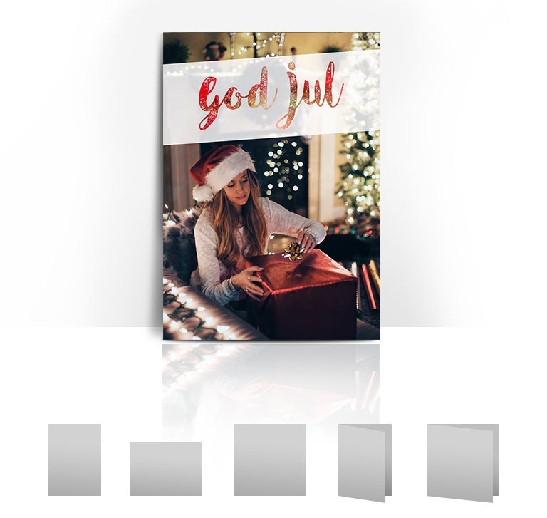 Julkort Paket