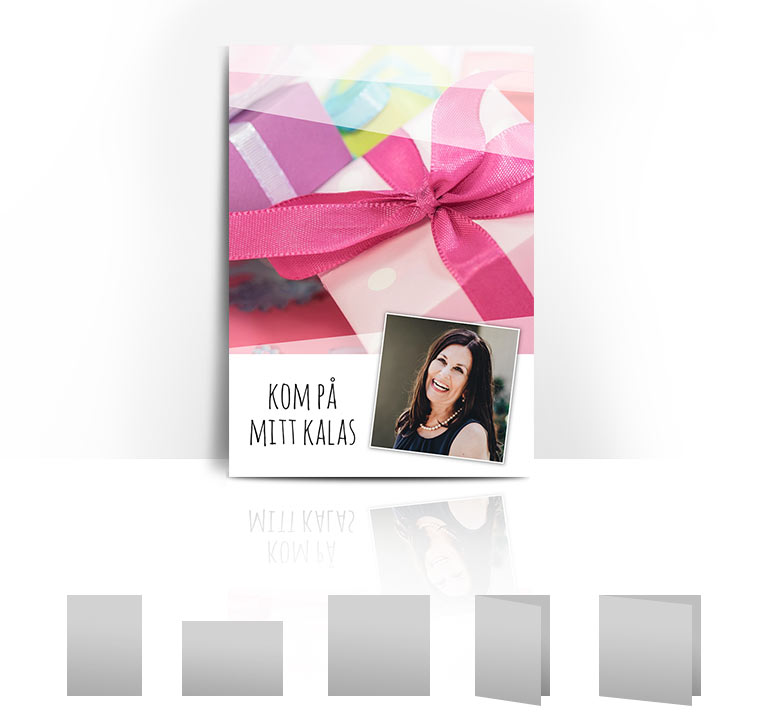 Födelsedagskort paket