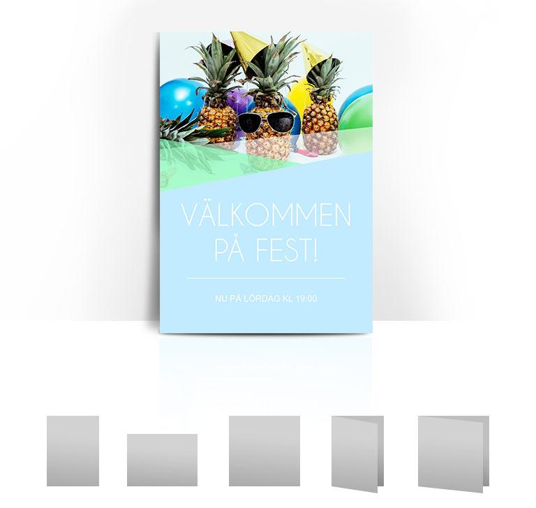 Inbjudningskort-Pineapple