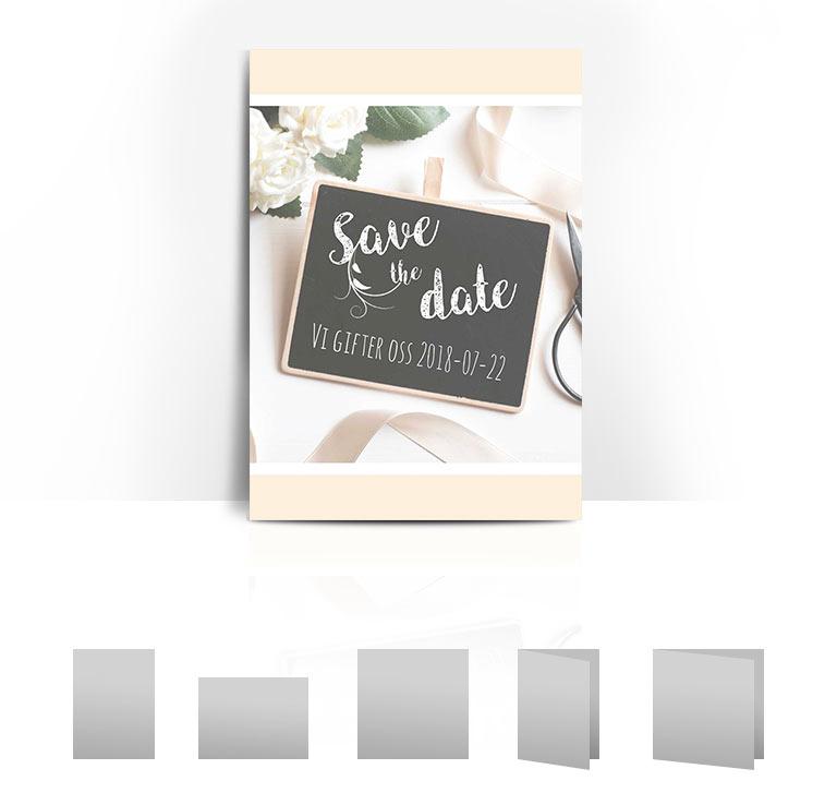 Bröllopskort board