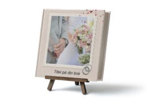 fotobok ställ bröllop