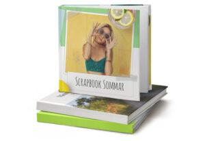 fotobok scrapbook sommar