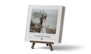 fotobok förlovning bröllop
