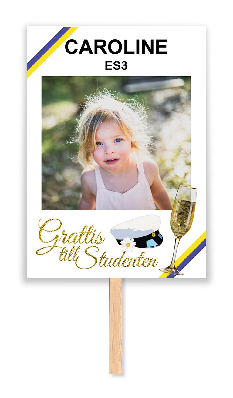 studentskylt champagne