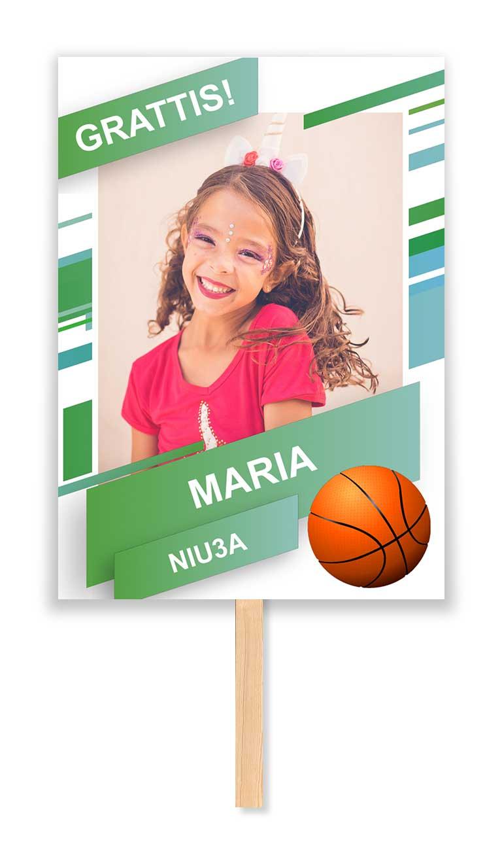 studentskylt basket