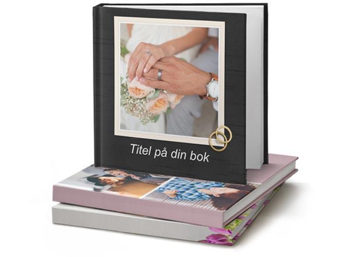 fotobok till bröllop