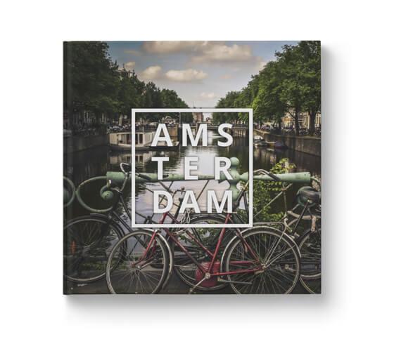 Fotobok resa Amsterdam