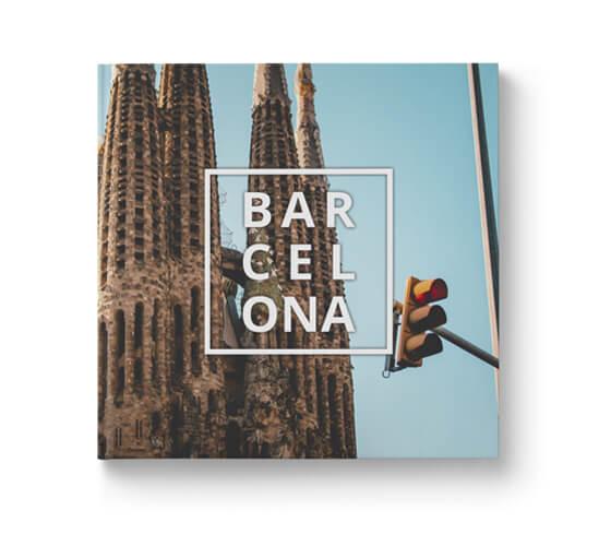 Fotobok Resa Barcelona