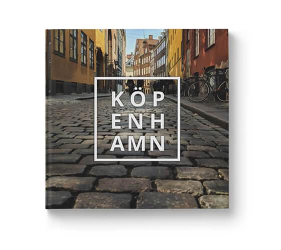 Fotobok Resa Köpenhamn