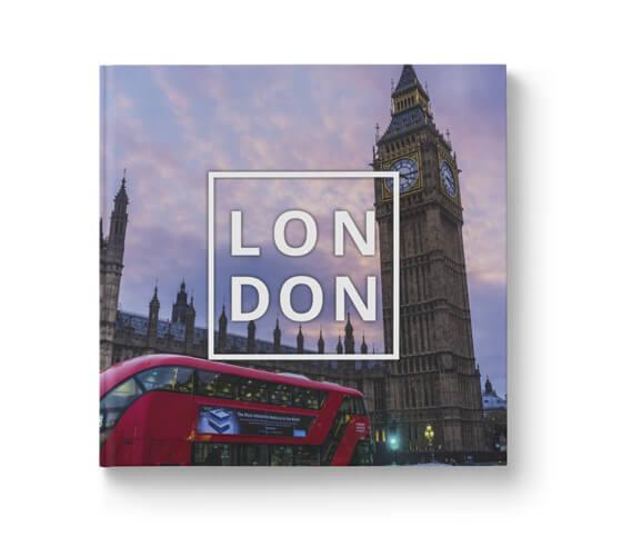 Fotobok Resa London