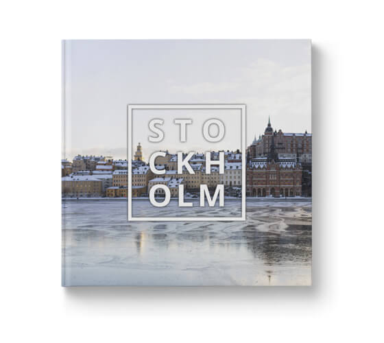 Fotobok Resa Stockholm