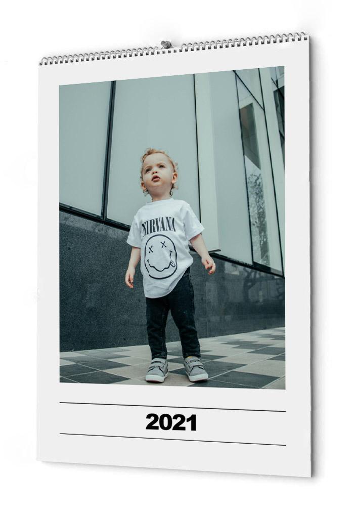 Fotokalender enkel