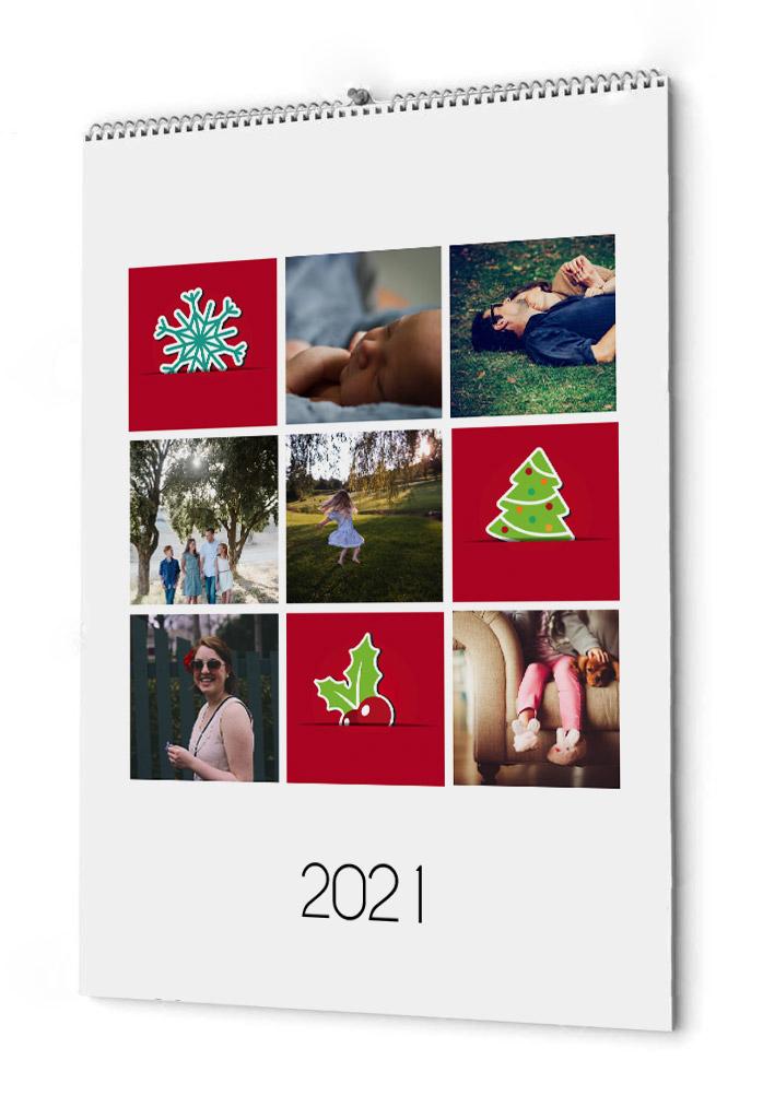 Fotokalender julstämning