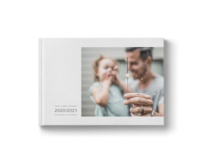 stor fin fotobok i liggande A4 storlek
