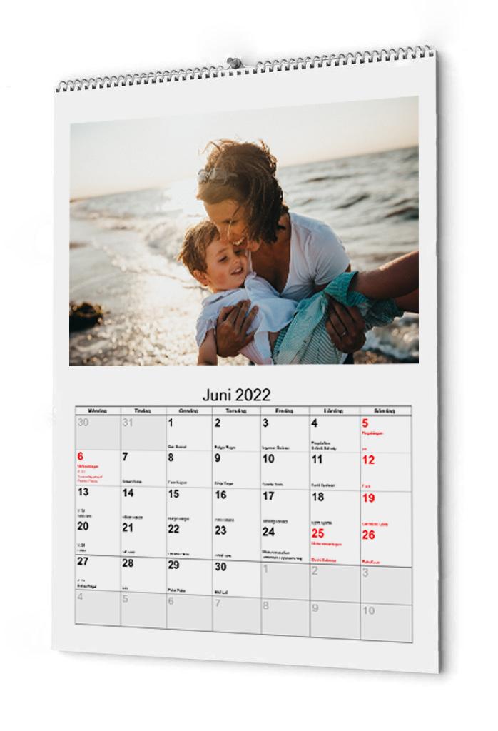 Fotokalender i A3 storlek