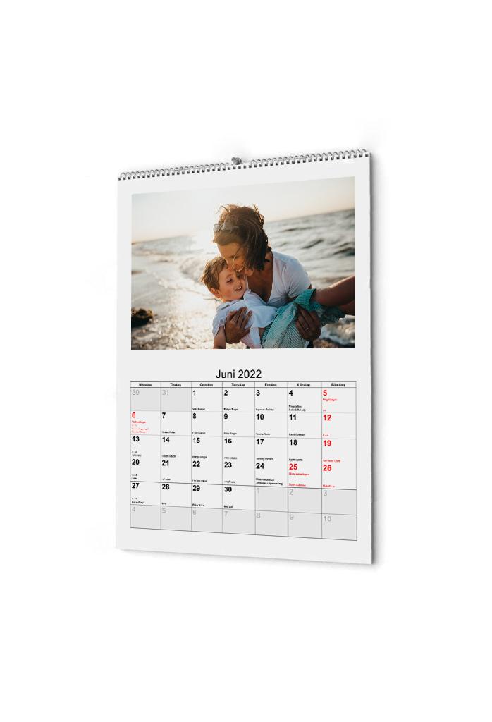 A4 kalender 2022