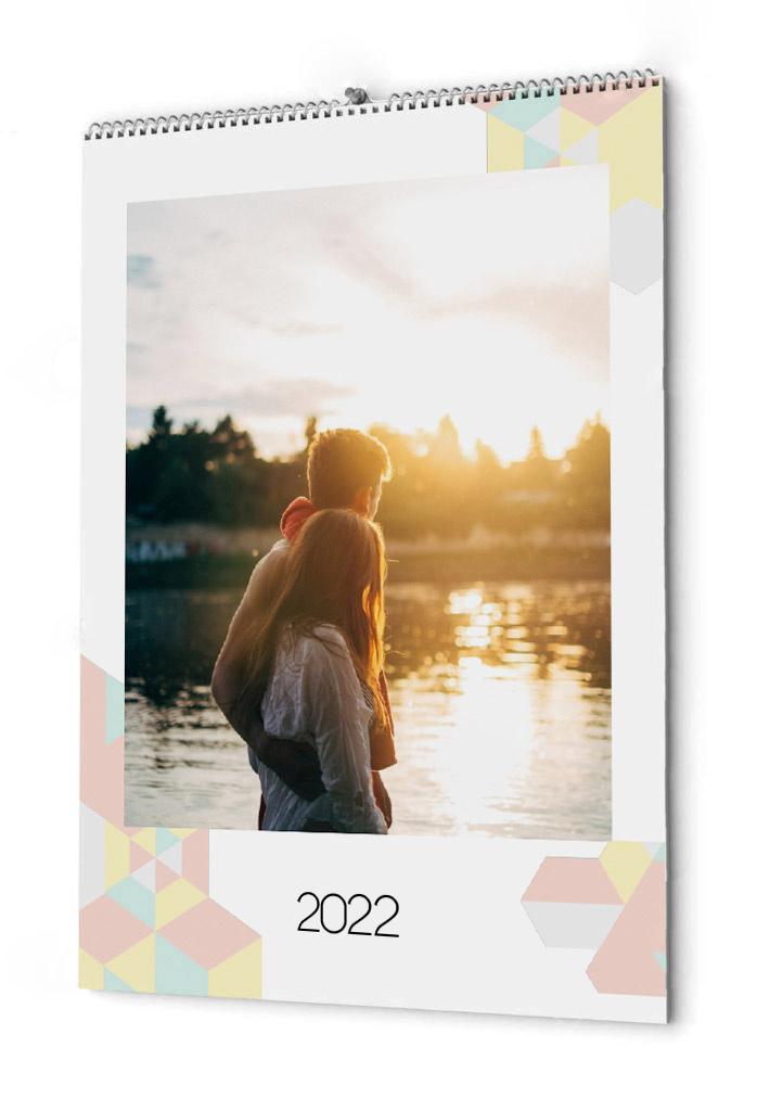 Fotokalender flera bilder