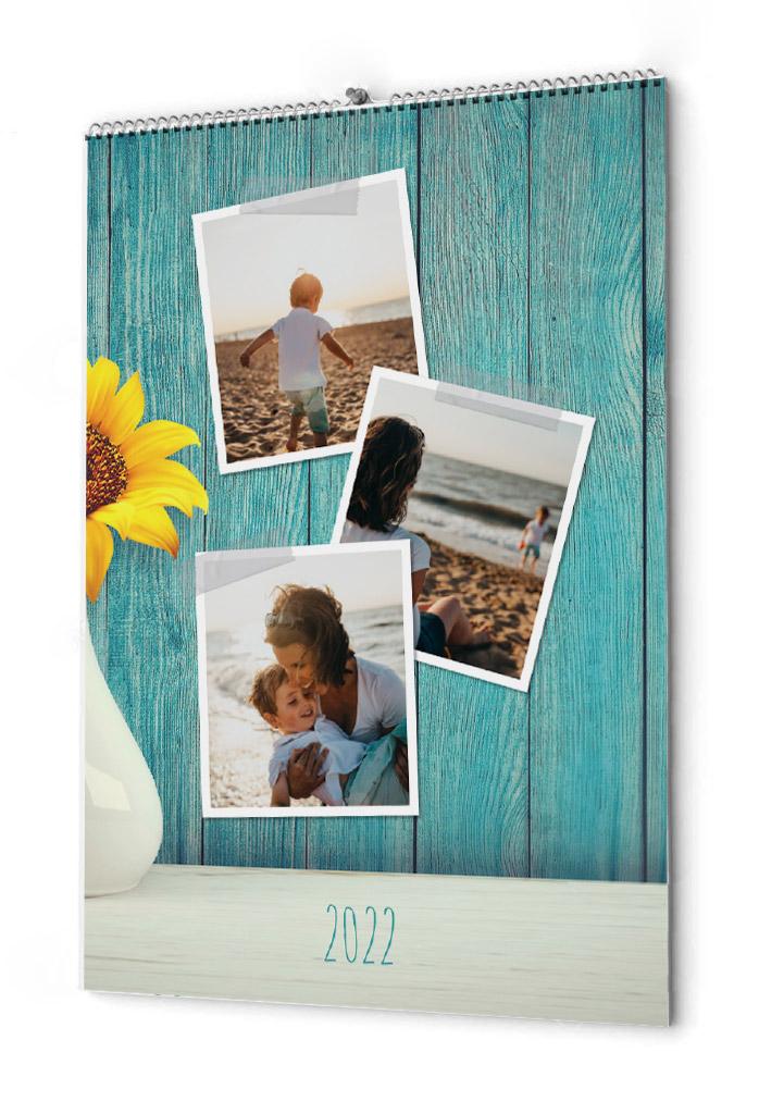 Fotokalender mycket bilder